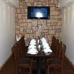 Plasma TV dinning area