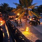 Baoase Beach by night