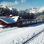 The Station in the winter