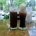 Iced Coffee and Eiskaffee