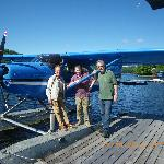 Jim Payne's Floatplane, 5 minutes away..not to be missed..
