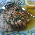 Fresh local swordfish