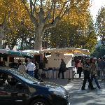 Il mercato di Sain Tropez