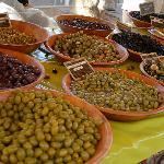 Il mercato di Saint Tropez