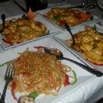 Chow Mein & Chicken Curry