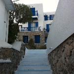 il villaggio e le sue scale... tante!