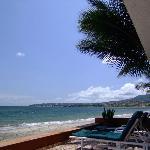 The beach looking north towards Punta de Mita