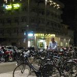 Capri Hotel vista notte