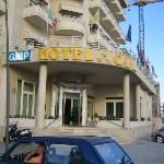 Capri Hotel vista ingresso