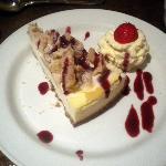 Beautiful cheesecake.
