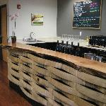 Front bar of Stottle Winery