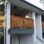 balcony - second floor room 220