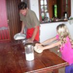 Buddha Teaches us to Make Fresh Pasta