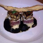 fois gras scallop tuna