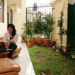 Lounge area outdoors