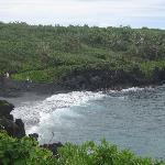 Black Sand Beach @ Wai'anapanapa State Park