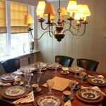 Inn at Kent Fall's dining room
