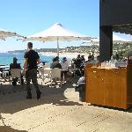 The White Elephant Cafe.Fabulous location