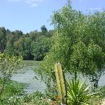 Vista a la presa