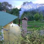 Cabañas con temazcal y chimenea