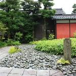 Cottage that Rosanjin had lived nearby