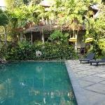 Pool between the suites
