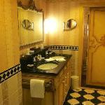 bathroom of superior room