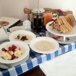 opulentes Frühstück