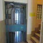 Secure gates on each floor