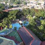 Melai Santiago de Cuba - view from top floor over pool area