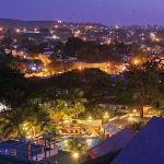Melai Santiago de Cuba - view from Roof Bar