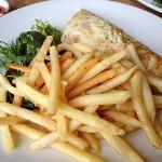 Salmon Omlette