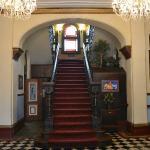Ballroom-like entrance