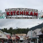 Ketchikan's Famous Sign, Just Up the Street from Fish Pirates Saloon