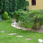 Innen Hof zum entspannen
