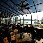 Wind Jammer Grill overlooking beautiful Lake Monroe