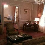 Suite supérieure situé à l'entre-sol de l'hôtel et donnant sur la rue Boissy d'Anglas