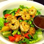spring asian salad w shrimp