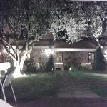 il giardino di sera