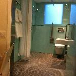 The large wet room