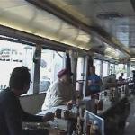 Davie's Chuck Wagon Diner inside