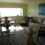 Livingroom of our suite
