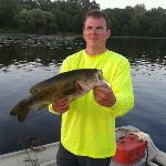4lb largemouth caught bye Nick @ Twin Oaks resort, Nokay lake