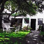 courtyard garden & take thyme deli