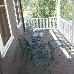 Honeymoon balcony