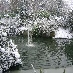 Kings Heath Park in Winter