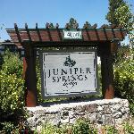 Juniper Springs sign