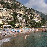 Postiano main beach