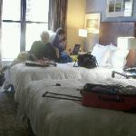our room. small but very clean and comfy.