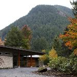 The Spa - daytime exterior - autumn